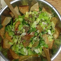 Gluten Free Ground Beef Taco Salad | Small Town Living in Nevada