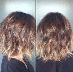 hairstyles ombre | Pretty Short Ombre Haircut