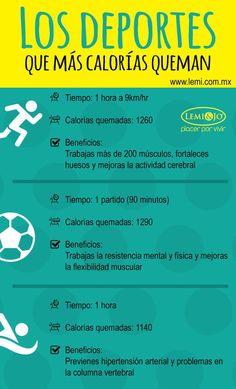 Los deportes que más calorías queman y sus beneficios