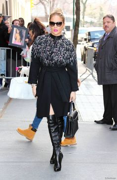 Jennifer Lopez à New York le 2 mars 2016