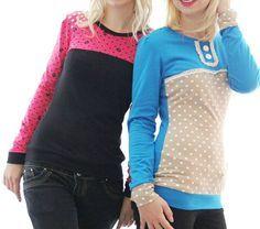 Damenshirt Lady Rockers kostenlose Nähanleitung + Schnittmuster