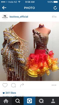 Stunning stunning stunning Latin dress!!!!!!