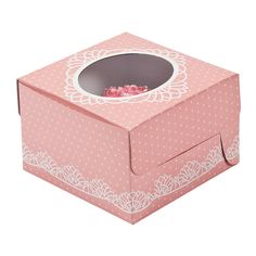 Vintage Collection Cupcake Boxes - OrientalTrading.com