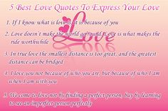 5 Best Love Quotes