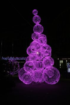purple things:                         Christmas lights in Turin