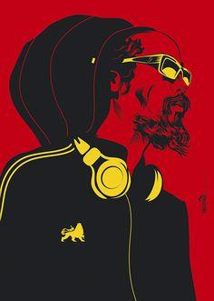 Michael Thompson's poster art portfolio and shop Damian Marley, Bob Marley, Rastafari Art, Rasta Art, Marijuana Art, Marijuana Funny, Cannabis, Michael Thompson, Dancehall