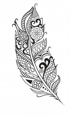 Maori feather