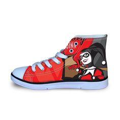 da52d8e7ae97 Harley Quinn Women Canvas Shoes (U.S Size)