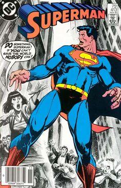 Superman #413 DC Comics