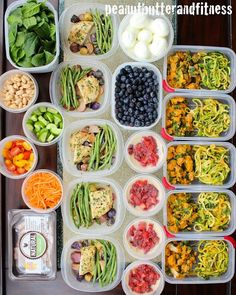 Here's my meal prep from last week! A couple of these should look familiar since I already published the recipes for them. I liked this one a lot…all of my meals except breakfast were completely new. I guess that's what happens when I have a long weekend and can brainstorm new, fun recipes! Day 1:...Read More »