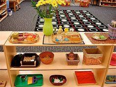 more pics of the public school Montessori classroom