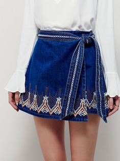 Dream Away Denim Mini