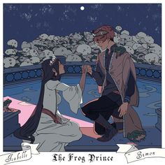 The Frog Prince ...  From Cassandra Jean ... simon lewis, isabelle lightwood, shadowhunters, the mortal instruments, sizzy