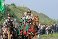 Vivat Vasa 2011r/ Gniew, Polska/ / zielona husaria / https://www.facebook.com/248448528657749/photos/a.264455147057087.1073741840.248448528657749/264455170390418/?type=3&theater/ Polish Winged Hussar