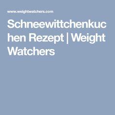 Schneewittchenkuchen Rezept | Weight Watchers
