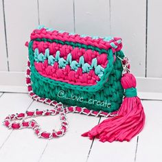 Зеленая трава малиновые цветы освежающая мята- все краски лета в одной сумочке…