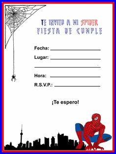 Kids Luau Parties, Luau Party, Marvel Ultimate Spider Man, Ideas Para Fiestas, Printable Invitations, Birthday Party Invitations, Holidays And Events, Baby Boy, Princesas Disney