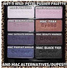 Augen make up alltag Mac eyeshadow dupe from wnw palette Perhaps Mac Eyeshadow Dupes, Mac Dupes, Drugstore Makeup Dupes, Beauty Dupes, Mac Makeup, Love Makeup, Beauty Products, Eyeshadows, Lipsticks