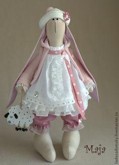 Toy animals, handmade. Fair Masters - handmade bunny Maja. Handmade.