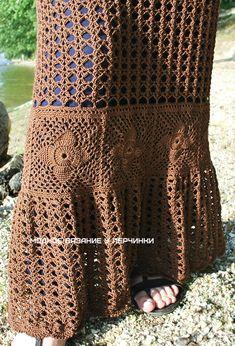 Шикарная юбка крючком в стиле Бохо - Crochet Modnoe Vyazanie