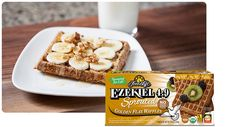 Ezekiel 4:9(R) Sprouted Grain Golden Flax Waffles
