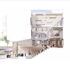 University Architecture, Architecture Office, Concept Architecture, Architecture Details, Architecture Graphics, Architecture Drawings, Architecture Portfolio, Atrium Design, Casa Hotel