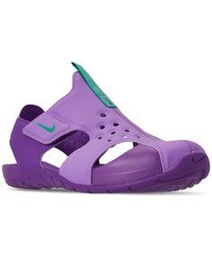 4537874b6 Nike Little Girls  Sunray Adjust 5 Sandals from Finish Line - Purple 11