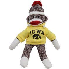 Iowa Hawkeye Sock Monkey