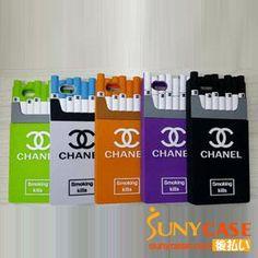 ブランドシャネル iPhone6Plus/6sPlusケース タバコ chanel アイフィン6s/6ケース 煙 シリコンケース