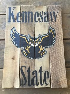 Kennesaw State University KSU Owls Custom Sports by PeachyPallets