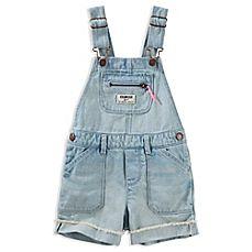 73cc26f064 OshKosh B gosh® Denim Zipper Chest Pocket Shortall