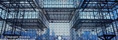 New York Architectural Photography - Photos, Fine Art Prints and Stock Images - Jacob Javits Center Interior Panoramic View