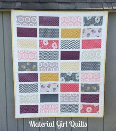Baby Cakes {a finished quilt!}