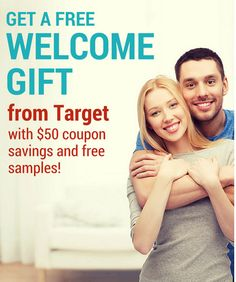 Getting married? Get a FREE welcome kit, 15% off coupons and more from Target!