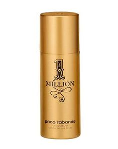 Paco Rabanne 1 Million Deodorant Spray Paco Rabanne 10079410 Paco Rabanne 1 Million Deodorant Spray 150ml-A fresh, spicy leather fragrance, Paco Rabanne 1 Million is the expression of every mans fantasies. http://www.MightGet.com/february-2017-1/paco-rabanne-1-million-deodorant-spray-paco-rabanne-10079410.asp