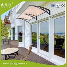 YP60160 60x160cm 60x240cm 60x320cm Outdoor Polycarbonate Front Door Window Awning Patio Cover Canopy