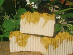 Fresh Gardenia Soap for a refreshing bath at Luxuriously Natural Soaps
