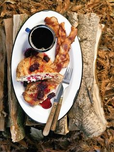 This French Toast Was Made Over a Campfire, Believe It or Not
