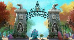 Monsters University: Trailer e Concept Arts   THECAB - The Concept Art Blog