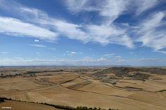 Meseta view from mountain Castrojeriz #Camino 2015 july McG - day 17