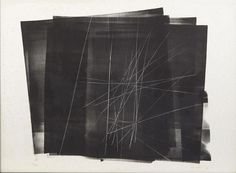 Hans HARTUNG Composition, lithographie, 49 x 57 cm, marges environ