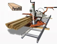 Resultado de imagen de how to make a chainsaw mill