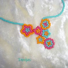 Matching Mexican Flower Necklace