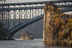 The Spuyten Duyvil Bridge is a railroad swing bridge