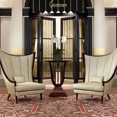Love the art deco elegance Sofa Furniture, Luxury Furniture, Furniture Design, Christopher Guy, Home Interior, Interior Architecture, Interior Design, Cool Chairs, Awesome Chairs