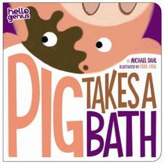April 28 & 29, 2015. A muddy little pig takes a bath and gets clean before escaping back to his messy fun.
