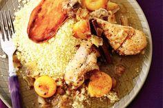 Kijk wat een lekker recept ik heb gevonden op Allerhande! Marokkaanse kip met abrikozen