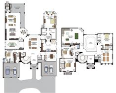 CHANTILLY/903 Floor Plan VIENNA/509 Floor Plan Choose from four collections of exquisite home designs, ranging from about 2,500 to over 7,800 air-conditioned square feet of living space #BocaBridges by #GLHomes