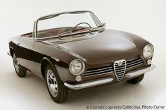 1963 Alfa Romeo Giulia Spider Prototipo http://test.automotivemasterpieces.com/1963-alfa-romeo-giulia-spider-prototipo-bertone-sn-ar1050300002.html?view=homepage