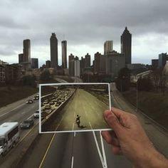 How to take a good photo from Atlanta's Jackson Street Bridge